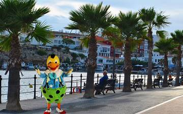 What stories does Kiko know about Cales Fonts?