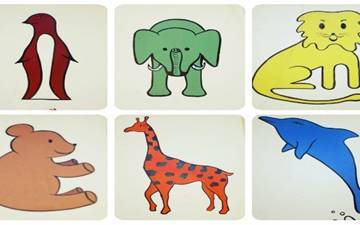 Funny animals indications for the little ones!