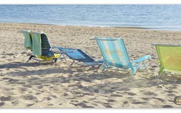 Special for families - Beach chairs!