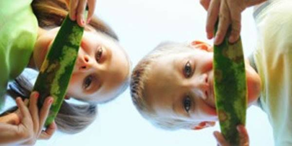 Tasty fruits and vegetables for your children