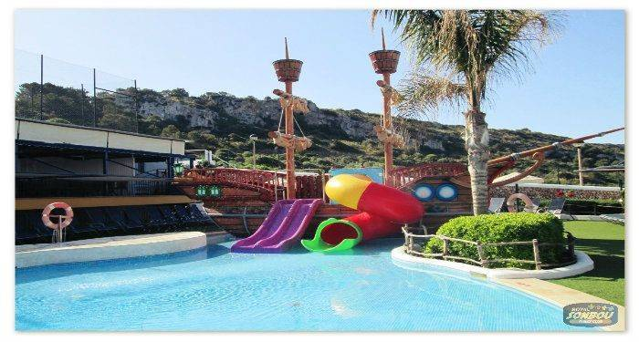 New water slide for the youngest!