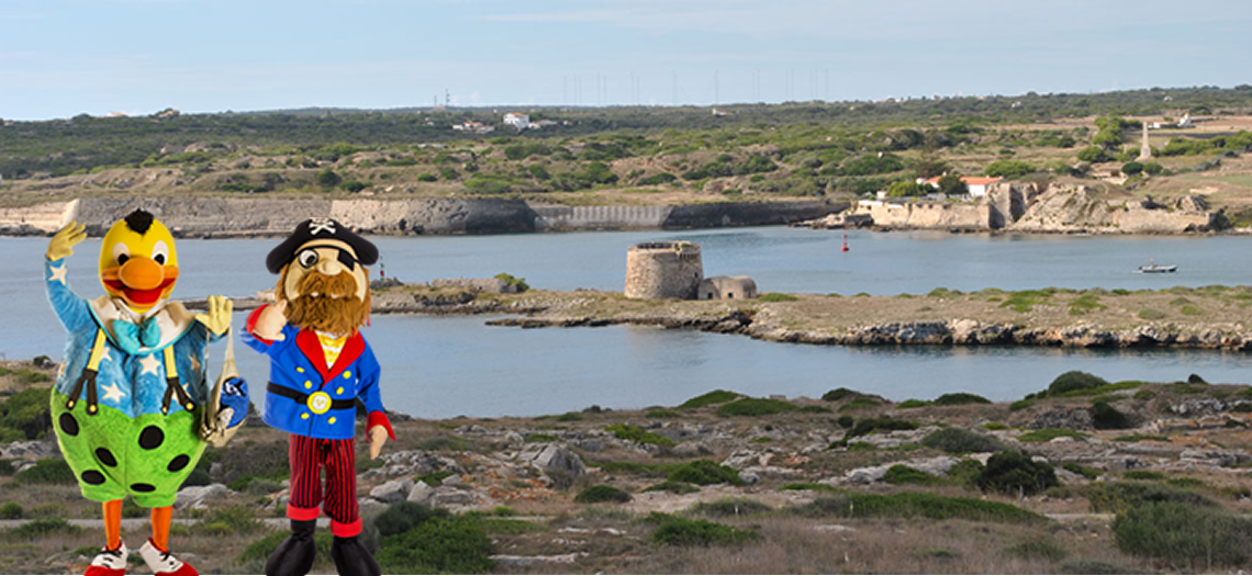 Kiko and Hooky remember the pirates who plundered Menorca